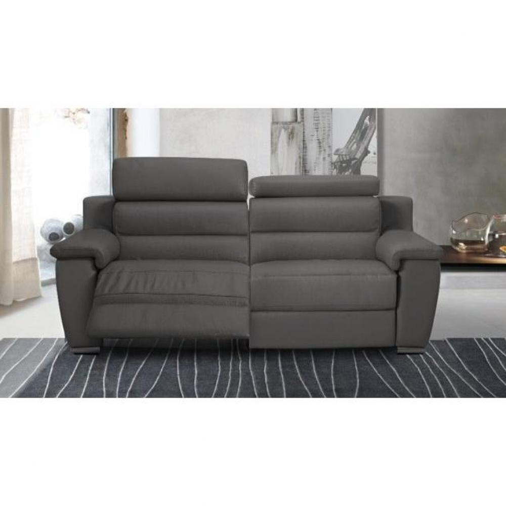 Canap s relax canap s et convertibles relaxo canap 2 places relax lectriq - Canape 2 places electrique ...