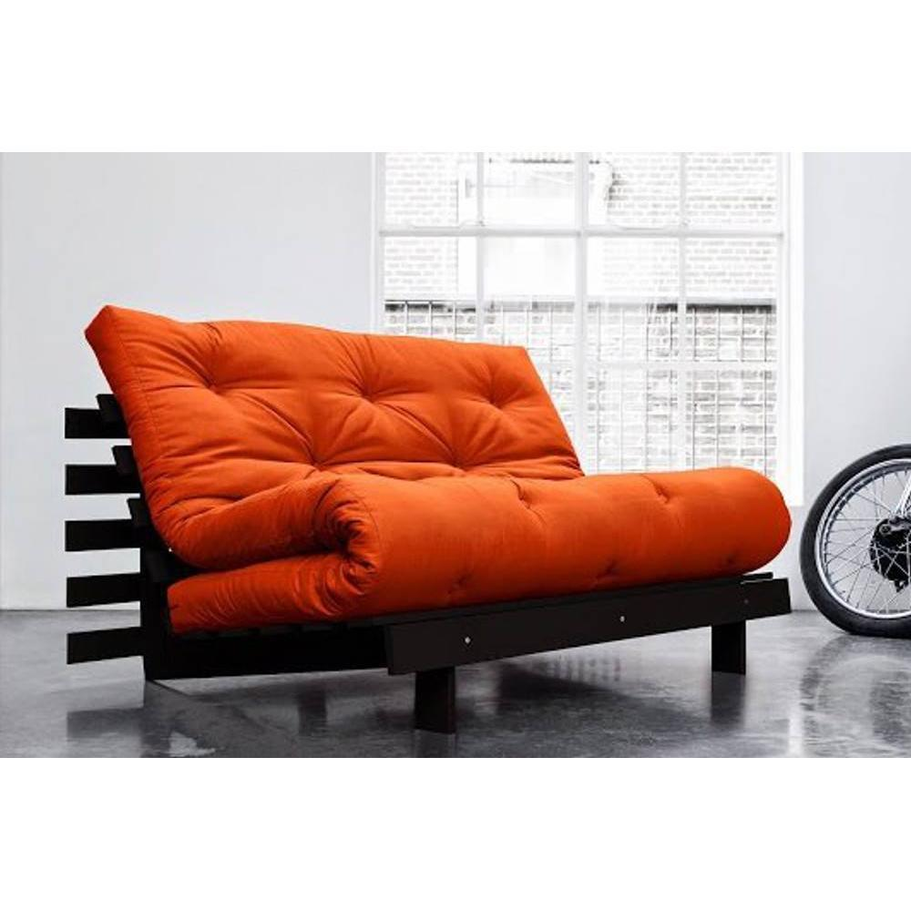 canap s convertibles canap s et convertibles canap bz weng roots wengue futon orange. Black Bedroom Furniture Sets. Home Design Ideas