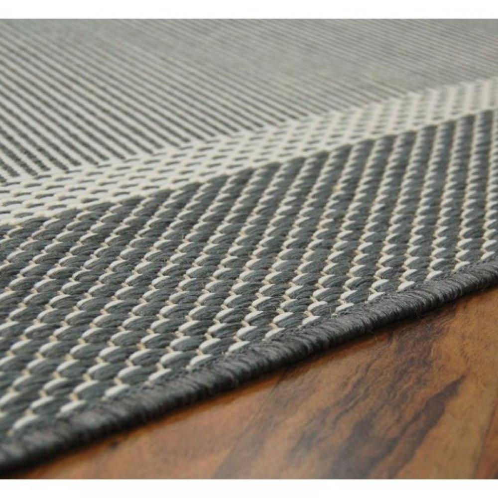 tapis de sol meubles et rangements carpetto tapis gris 120x170 cm inside75. Black Bedroom Furniture Sets. Home Design Ideas