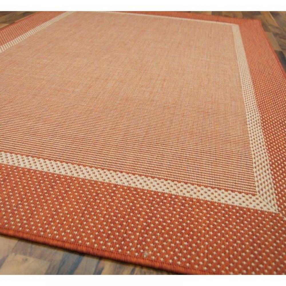 tapis de sol meubles et rangements carpetto tapis tiss orange 200x290 cm inside75. Black Bedroom Furniture Sets. Home Design Ideas
