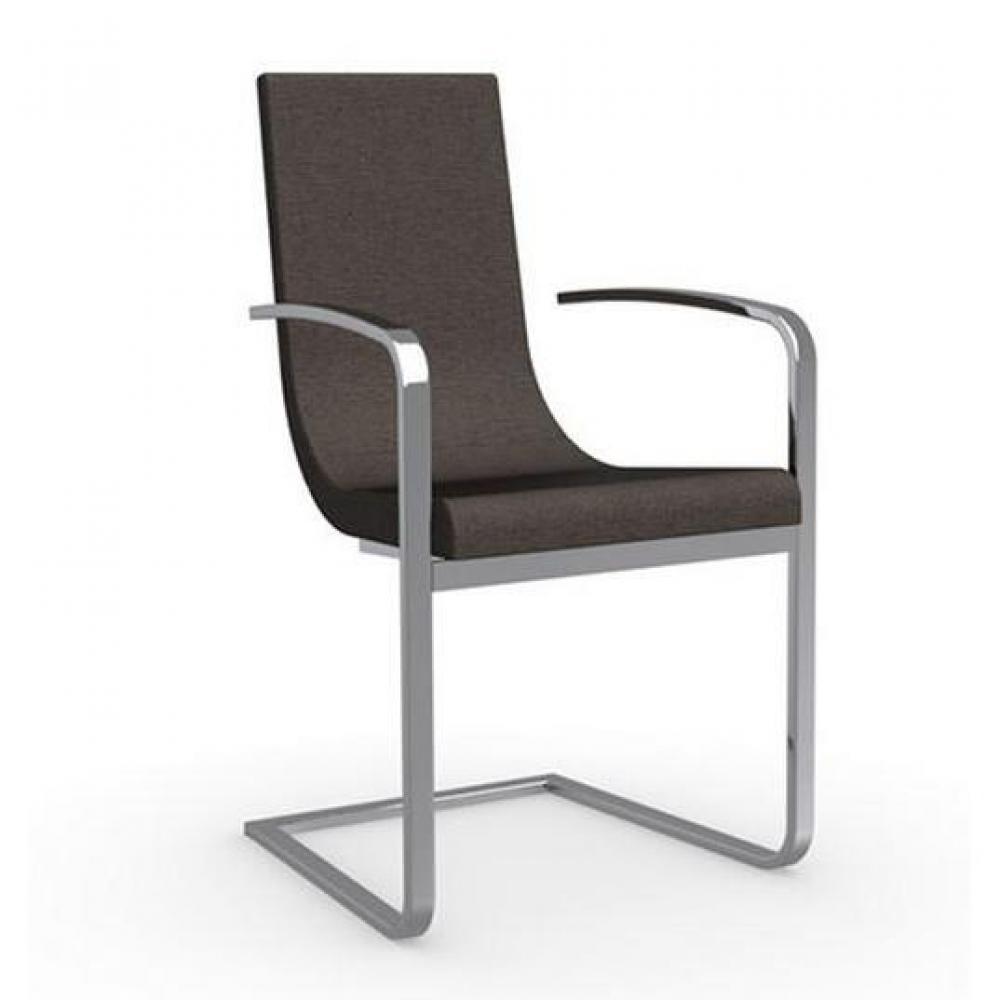 chaises tables et chaises calligaris cruiser chaise haut de gamme avec accoudoirs assise tissu. Black Bedroom Furniture Sets. Home Design Ideas
