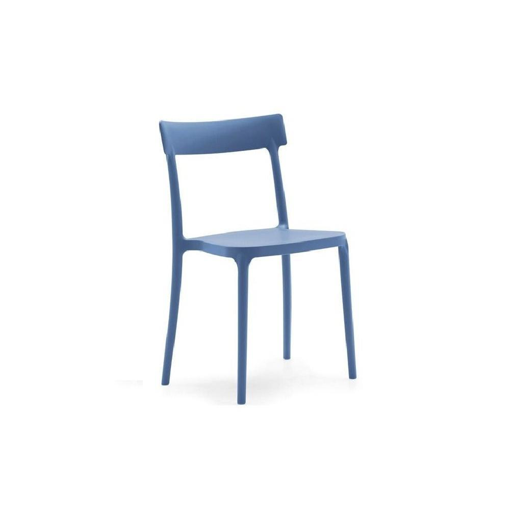 Chaises tables et chaises calligaris chaise empilable for Chaise design empilable