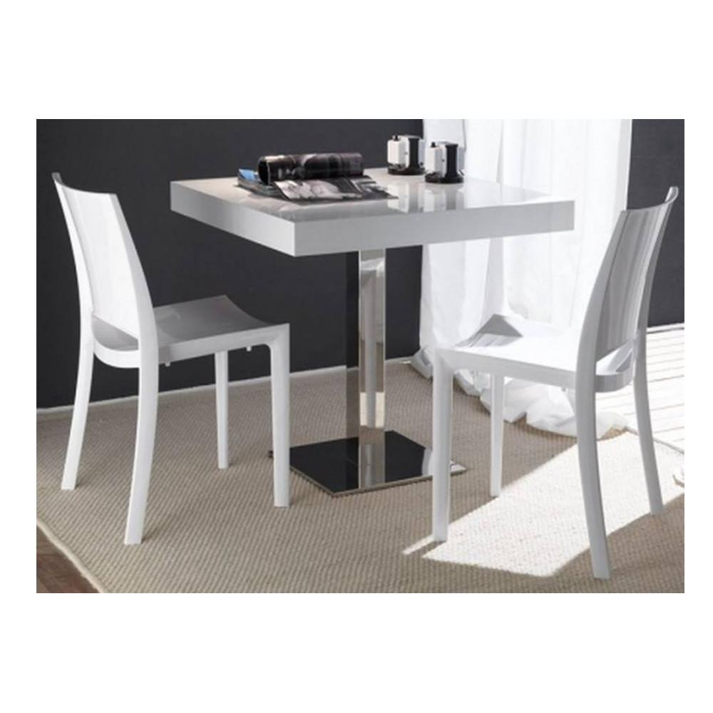 chaises tables et chaises lot de 2 chaises b white. Black Bedroom Furniture Sets. Home Design Ideas