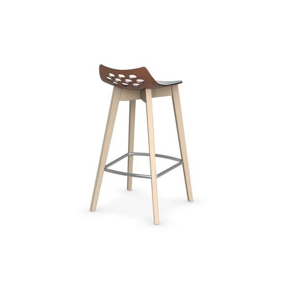 tabourets de bar tables et chaises calligaris tabouret de bar jam w orange transparent avec. Black Bedroom Furniture Sets. Home Design Ideas