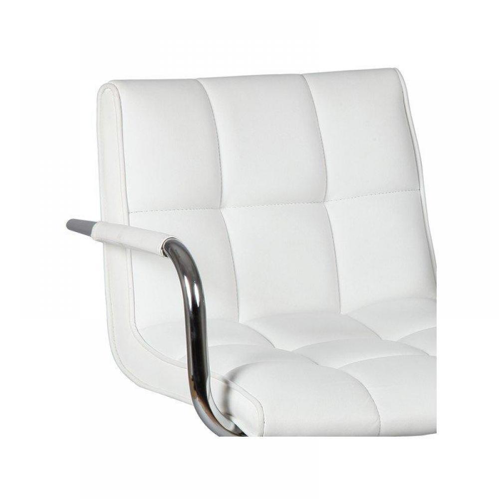 chaises de bar tables et chaises lot de 2 chaises de bar diamond blanches inside75. Black Bedroom Furniture Sets. Home Design Ideas