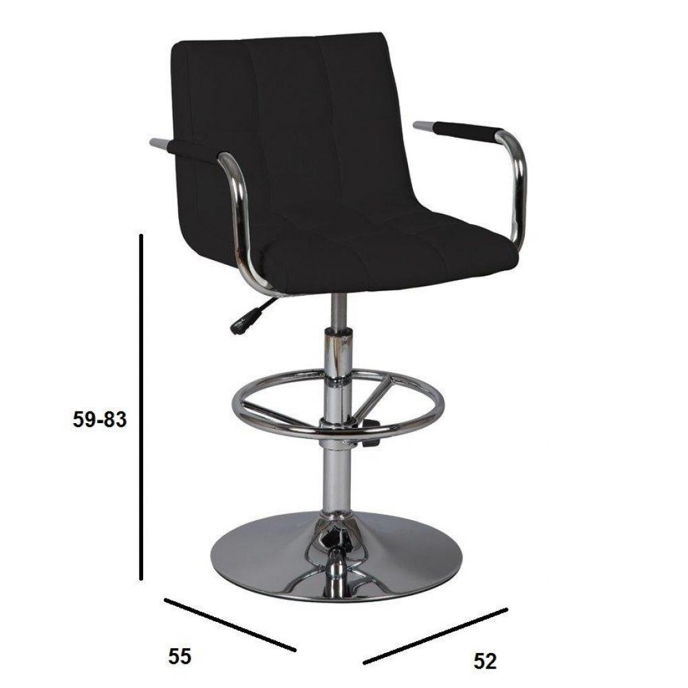 chaises de bar tables et chaises lot de 2 chaises de bar diamond noires inside75. Black Bedroom Furniture Sets. Home Design Ideas