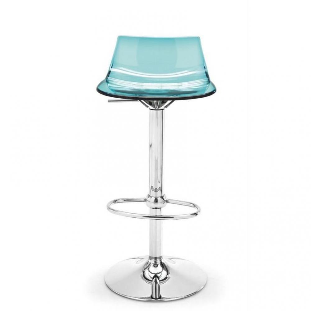 tabourets de bar tables et chaises chaise de bar design l 39 eau de calligaris en plexiglas vert. Black Bedroom Furniture Sets. Home Design Ideas