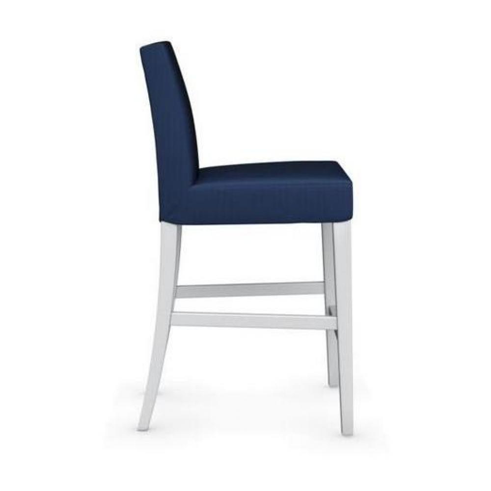 chaises tables et chaises calligaris chaise de bar latina pi tement h tre laqu blanc assise. Black Bedroom Furniture Sets. Home Design Ideas