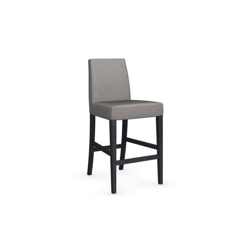 chaises tables et chaises calligaris chaise de bar latina pi tement graphite assise tissu. Black Bedroom Furniture Sets. Home Design Ideas