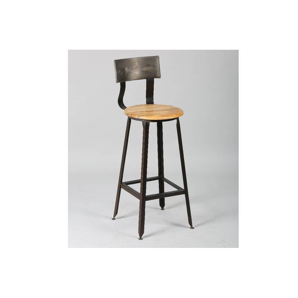 Tabourets de bar tables et chaises chaise de bar olympe for Chaise et tabouret