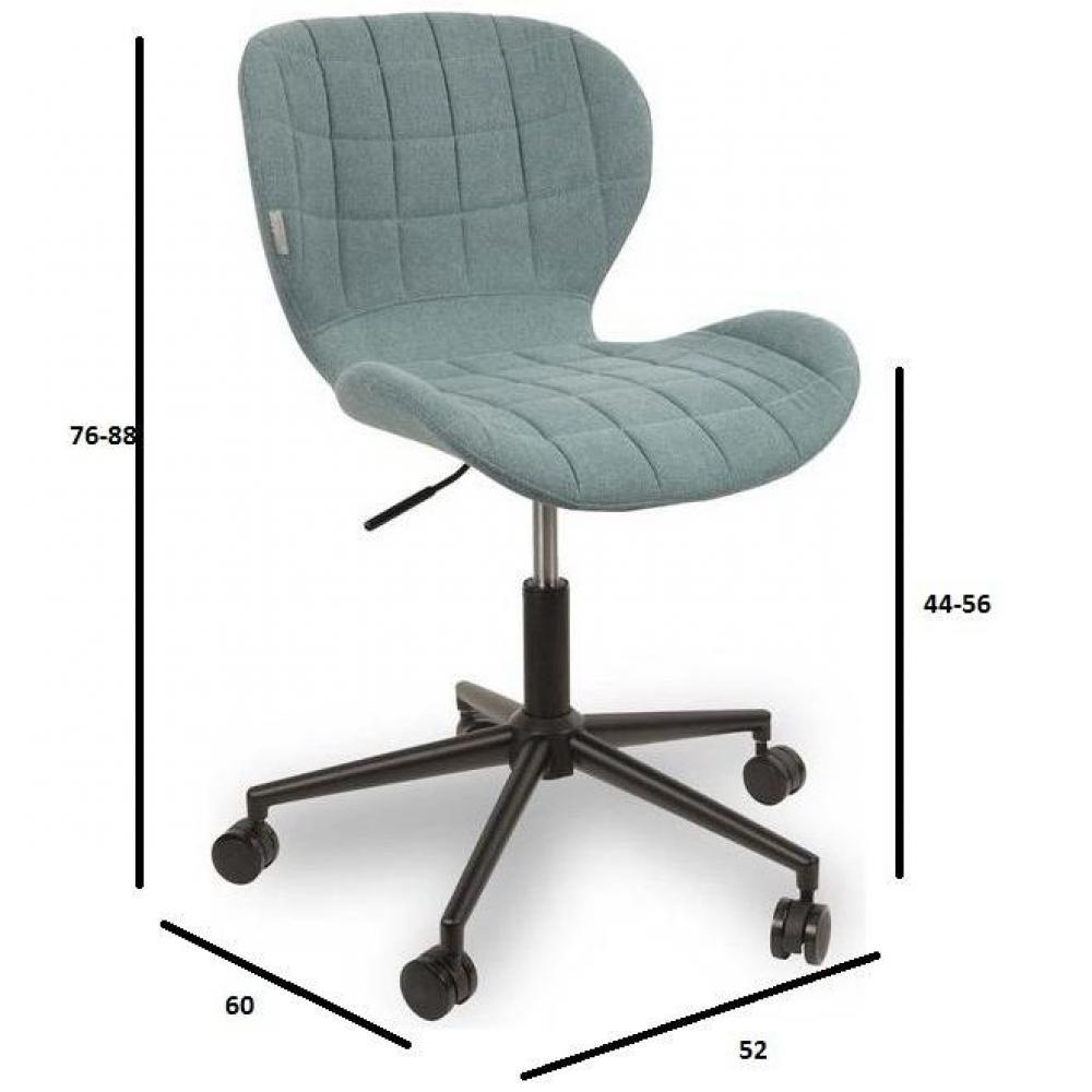 Chaises tables et chaises zuiver chaise de bureau omg - Chaise de bureau bleu ...