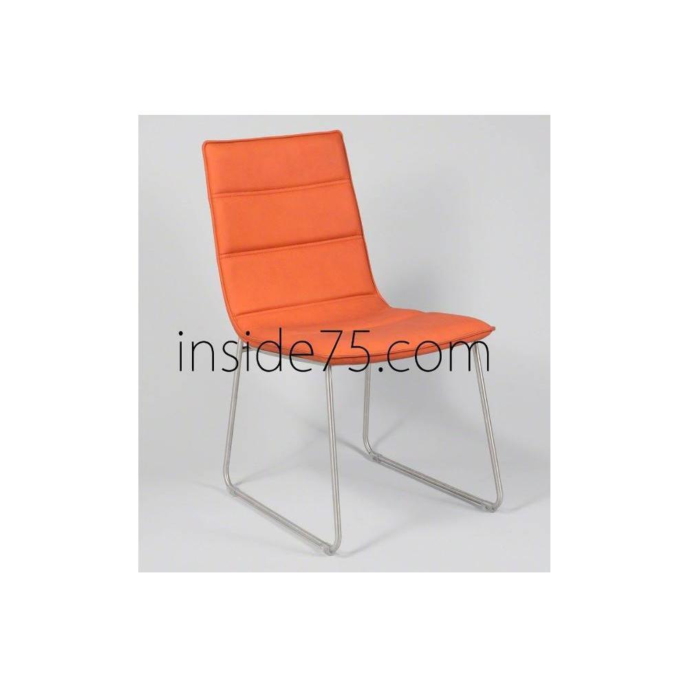 chaises tables et chaises chaises design dodge en tissu enduit polyur thane simili fa on cuir. Black Bedroom Furniture Sets. Home Design Ideas