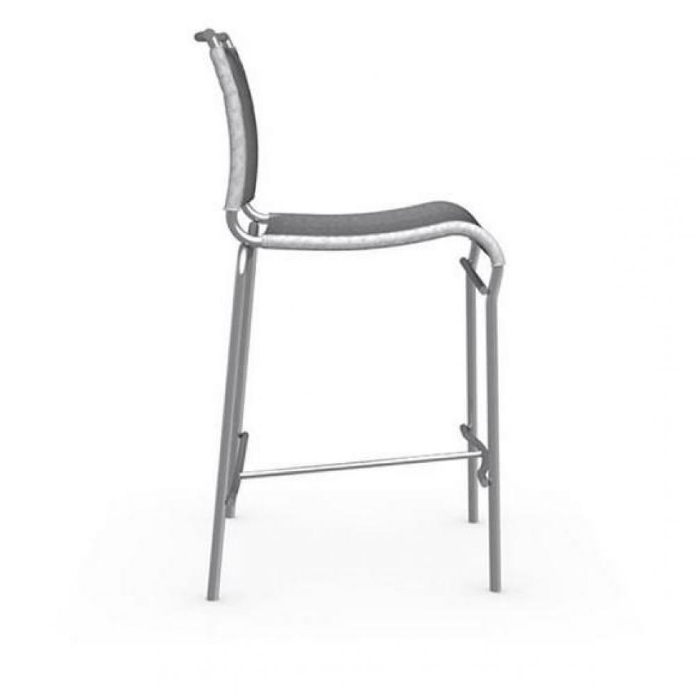 chaises de bar tables et chaises calligaris chaise de bar italienne air structure acier satin. Black Bedroom Furniture Sets. Home Design Ideas
