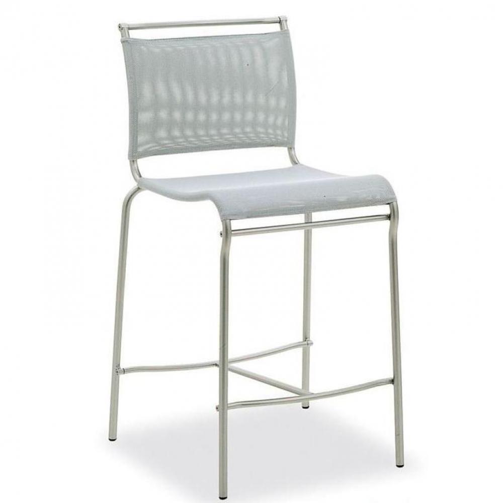 chaises tables et chaises calligaris chaise de bar italienne air structure acier satin assise. Black Bedroom Furniture Sets. Home Design Ideas