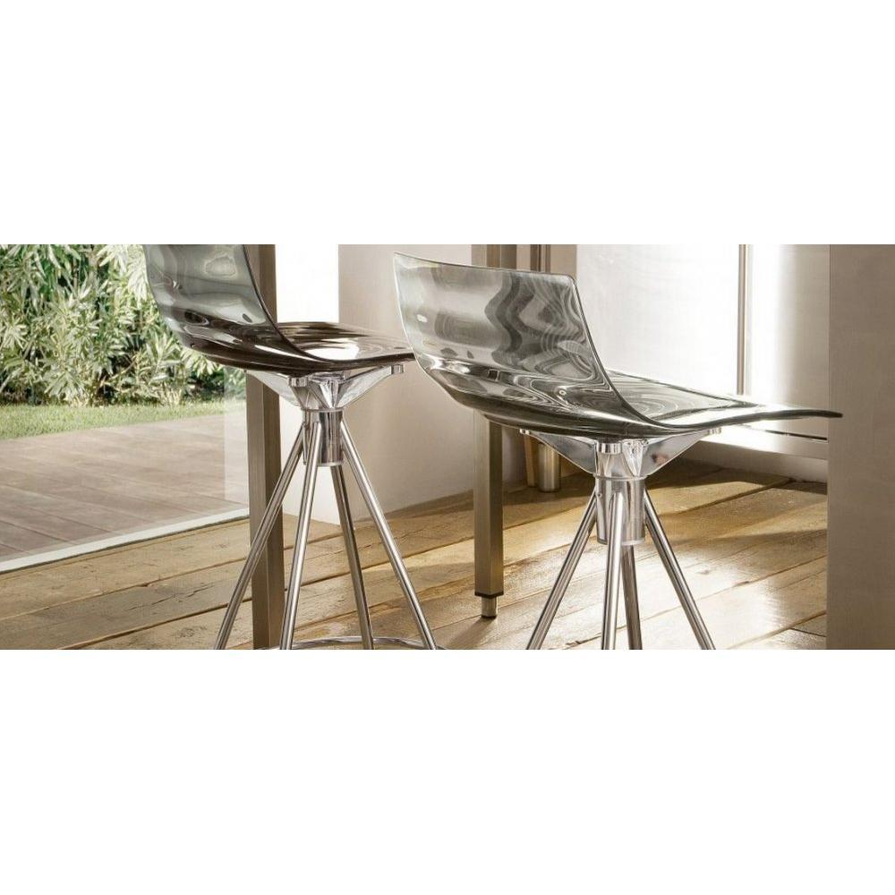 Chaises tables et chaises calligaris calligaris chaise - Chaise de bar grise ...