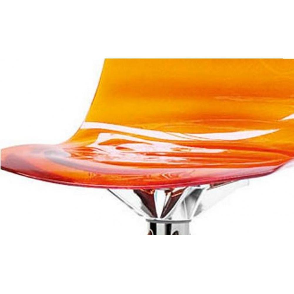 chaises tables et chaises calligaris calligaris chaise de bar design l 39 eau orange transparente. Black Bedroom Furniture Sets. Home Design Ideas