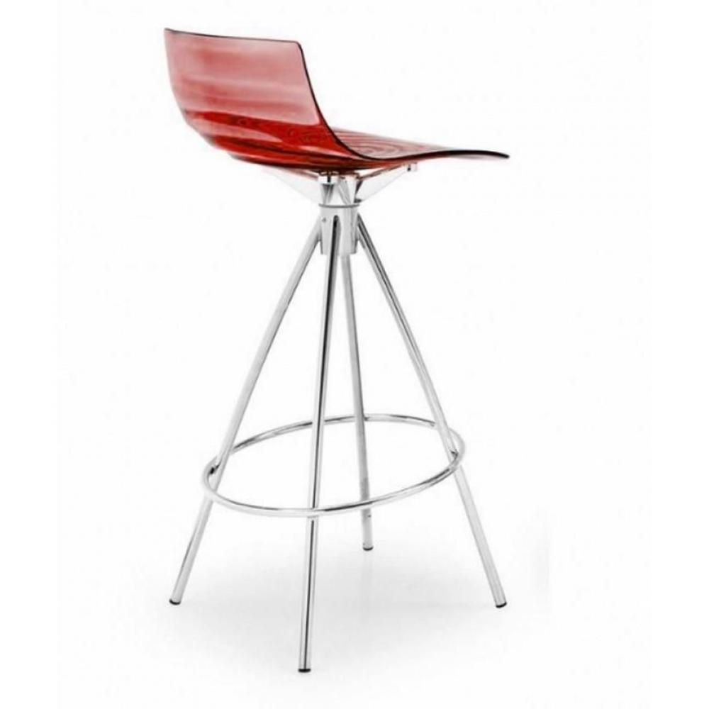 Chaises tables et chaises calligaris calligaris chaise for Chaise de bar transparente