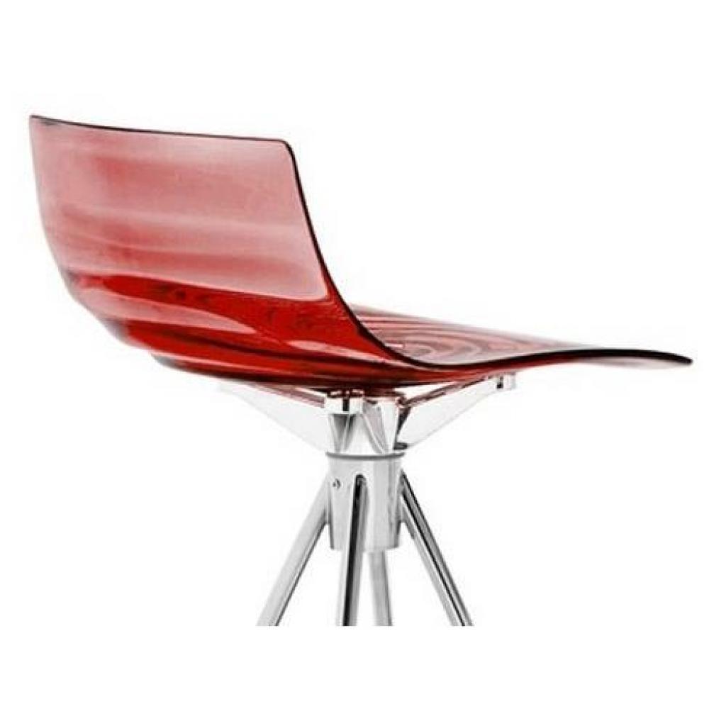 chaises tables et chaises calligaris calligaris chaise de bar design l 39 eau rouge transparente. Black Bedroom Furniture Sets. Home Design Ideas