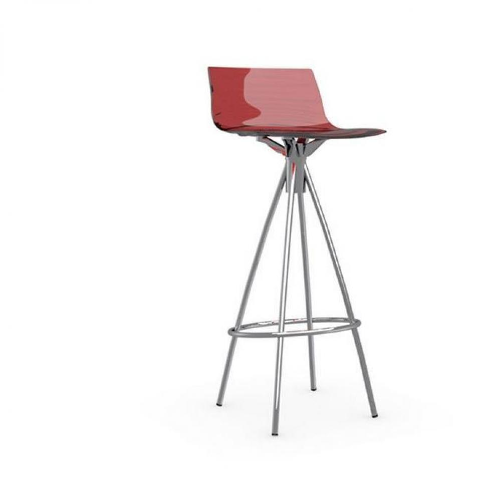 Chaises tables et chaises calligaris calligaris chaise de bar design l 39 eau rouge transparente - Chaise rouge transparente ...