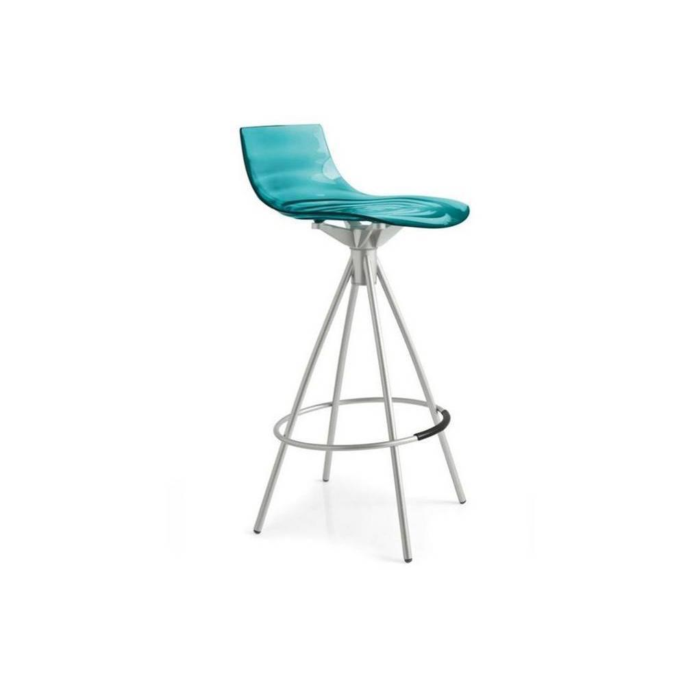 Tabourets de bar tables et chaises calligaris calligaris for Chaise de bar transparente