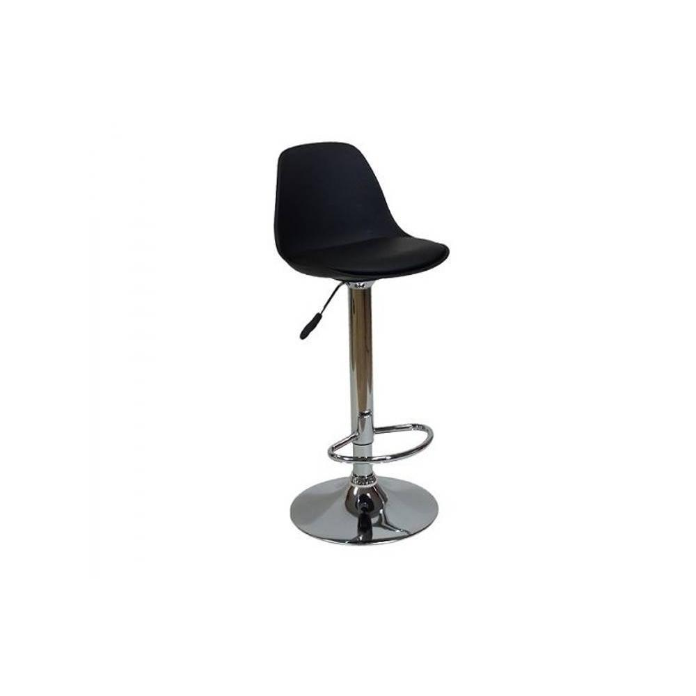Chaises de bar tables et chaises chaise de bar fruit design noire inside75 - Chaise de bar contemporaine ...