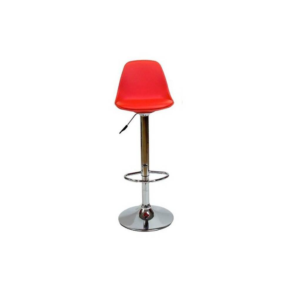 Chaises de bar tables et chaises chaise de bar fruit design rouge inside75 - Chaise de bar contemporaine ...