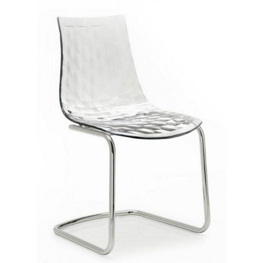 Chaise plastique transparent ikea maison design for Chaise cuisine plastique