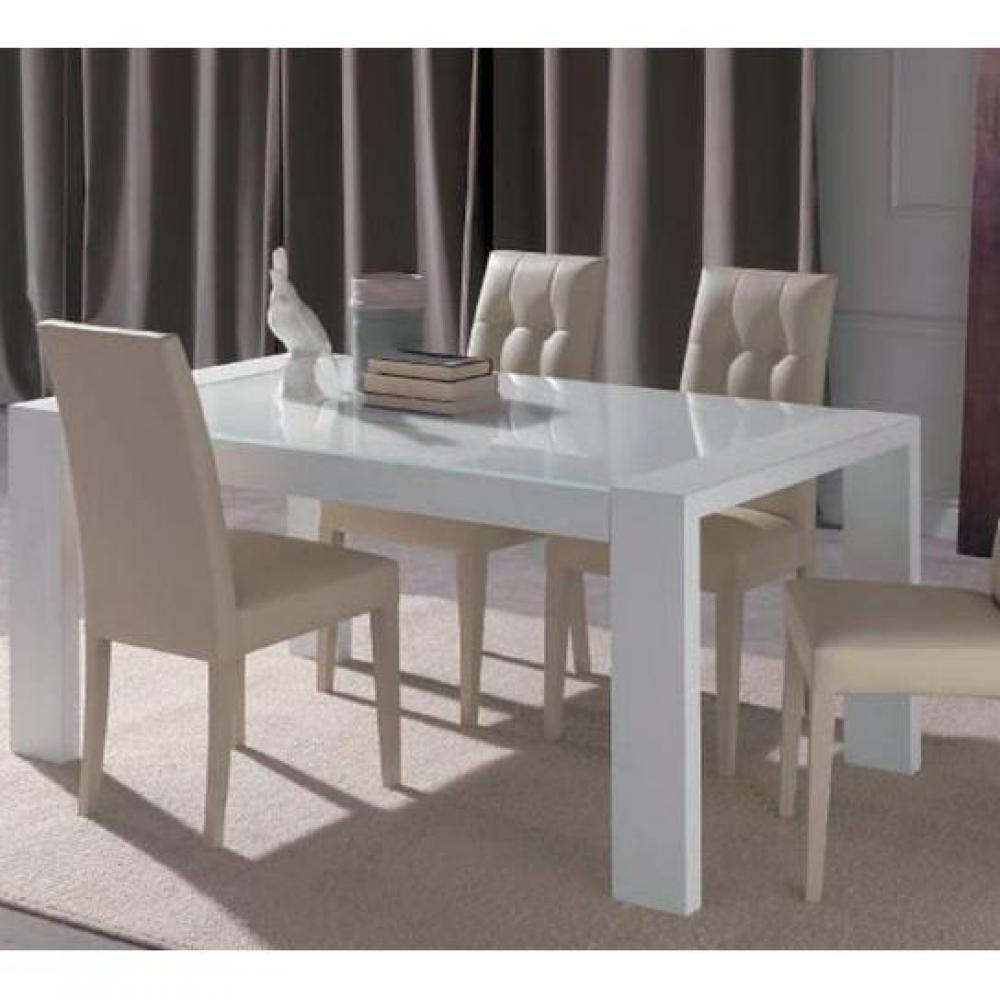 lot de 2 chaises design italienne four seasons en simili cuir sable. Black Bedroom Furniture Sets. Home Design Ideas