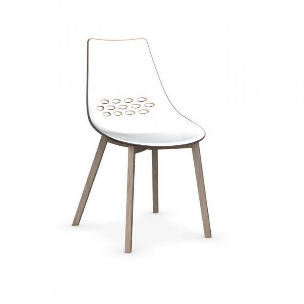 chaises tables et chaises calligaris chaise jam w orange transparent pi tement fr ne naturel. Black Bedroom Furniture Sets. Home Design Ideas