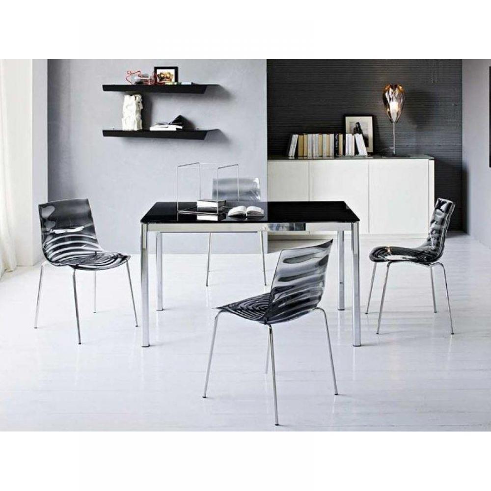 Chaises tables et chaises calligaris calligaris chaise - Chaises design grises ...