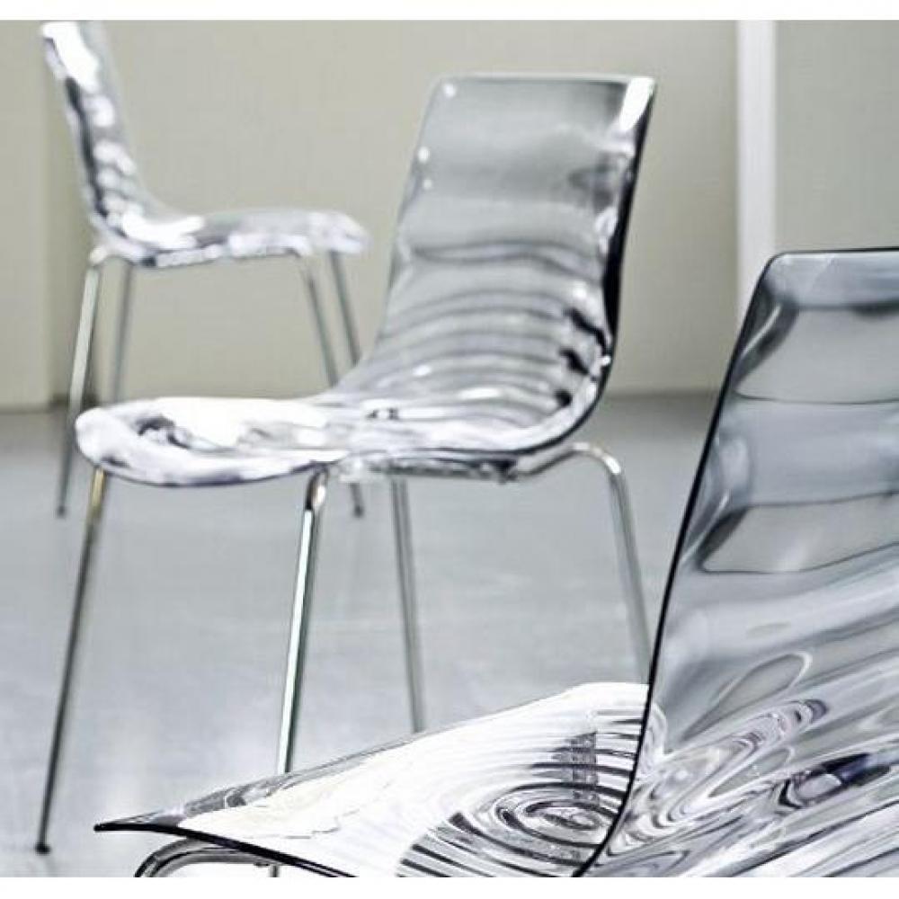 chaises tables et chaises calligaris calligaris chaise design l 39 eau transparente inside75. Black Bedroom Furniture Sets. Home Design Ideas