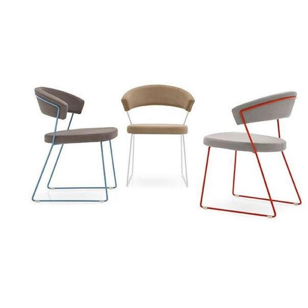 chaises tables et chaises calligaris chaise new york design italienne structure acier laqu. Black Bedroom Furniture Sets. Home Design Ideas