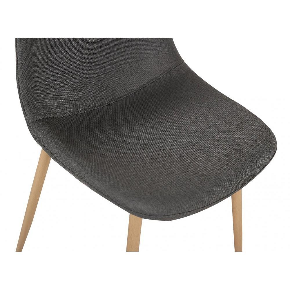 Chaises tables et chaises chaise stockholm design for Chaise scandinave tissu