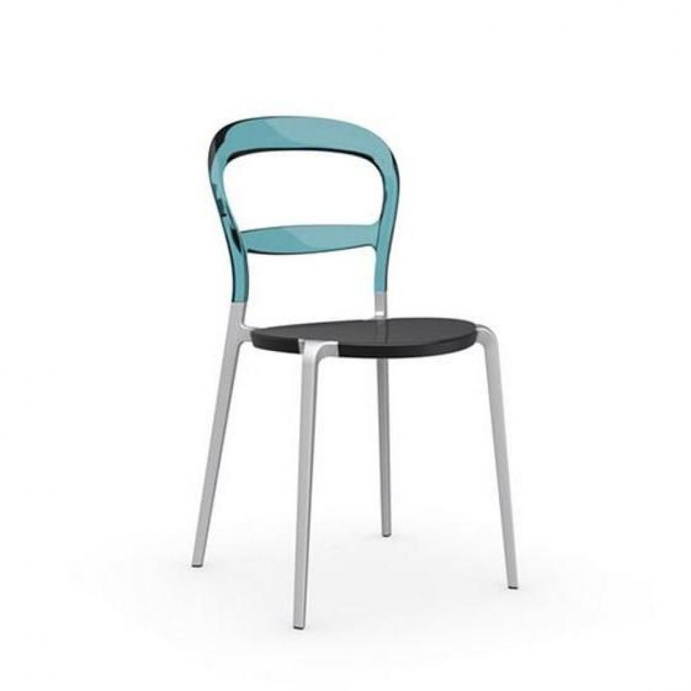 chaises tables et chaises calligaris calligaris chaise design wien vert d 39 eau transparent et. Black Bedroom Furniture Sets. Home Design Ideas