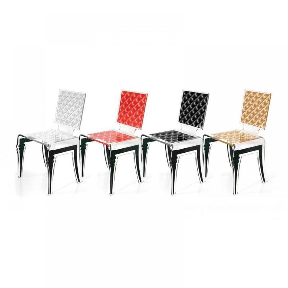 Chaises tables et chaises diam chaise design en plexi for Chaise en plexi