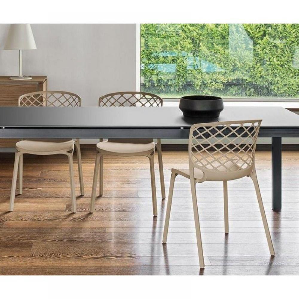Chaises de jardin tables et chaises calligaris chaise for Ikea chaises pliantes et empilables