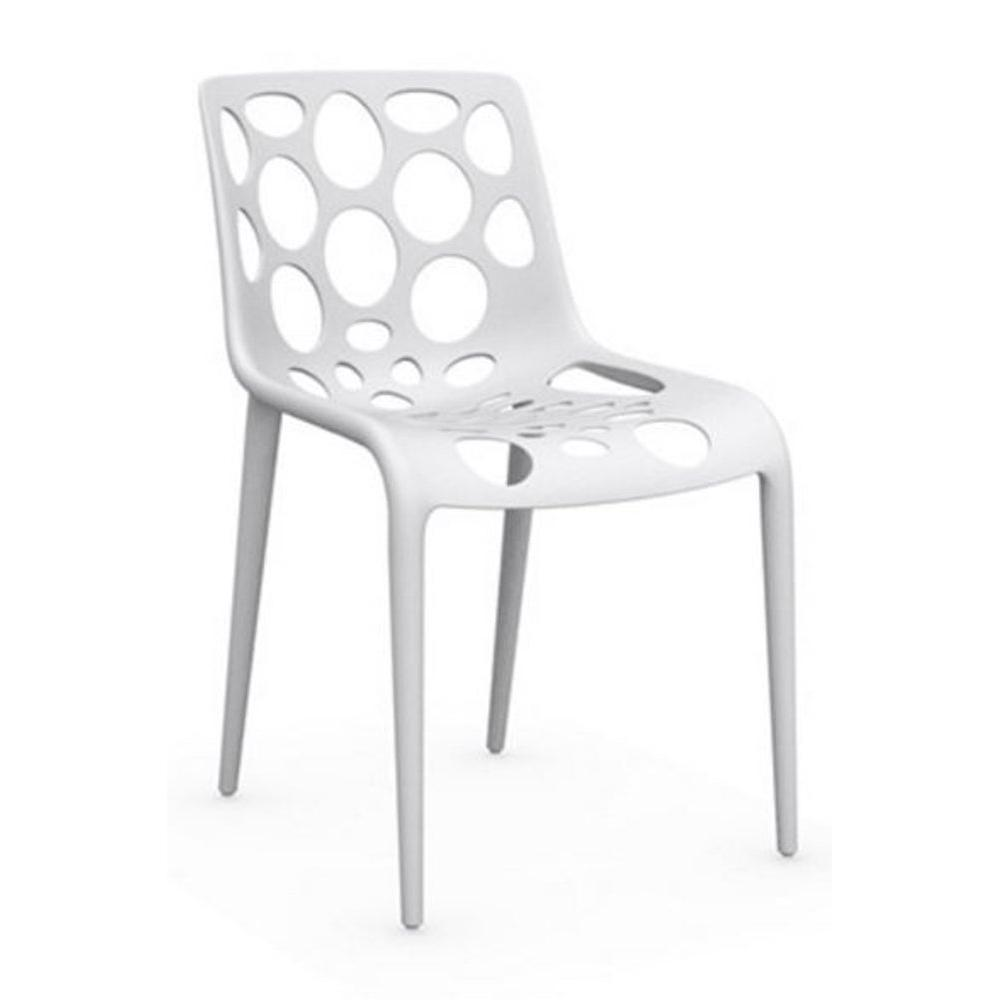 Chaises tables et chaises calligaris chaise empilable for Table et chaise blanche