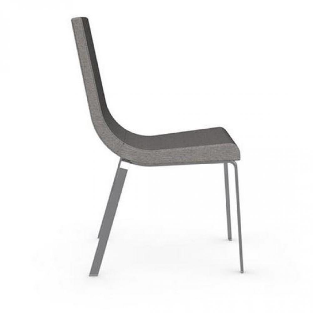 chaises tables et chaises calligaris chaise haut de gamme cruiser assise tissu corde inside75. Black Bedroom Furniture Sets. Home Design Ideas