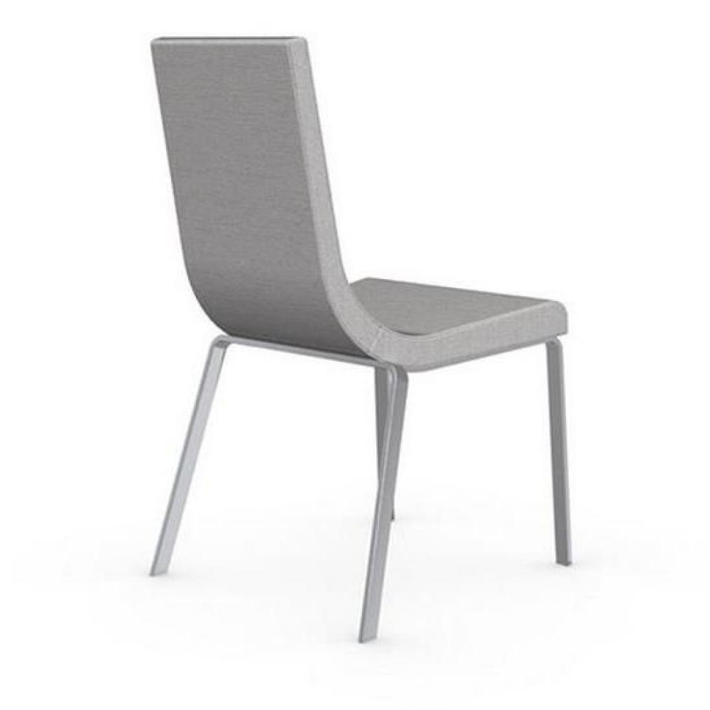 chaises tables et chaises calligaris chaise haut de gamme cruiser assise tissu sable inside75. Black Bedroom Furniture Sets. Home Design Ideas
