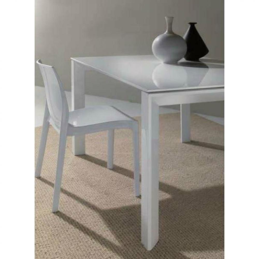 Chaises meubles et rangements chaise haute gamme falena blanche brillante - Chaise haute blanche ...
