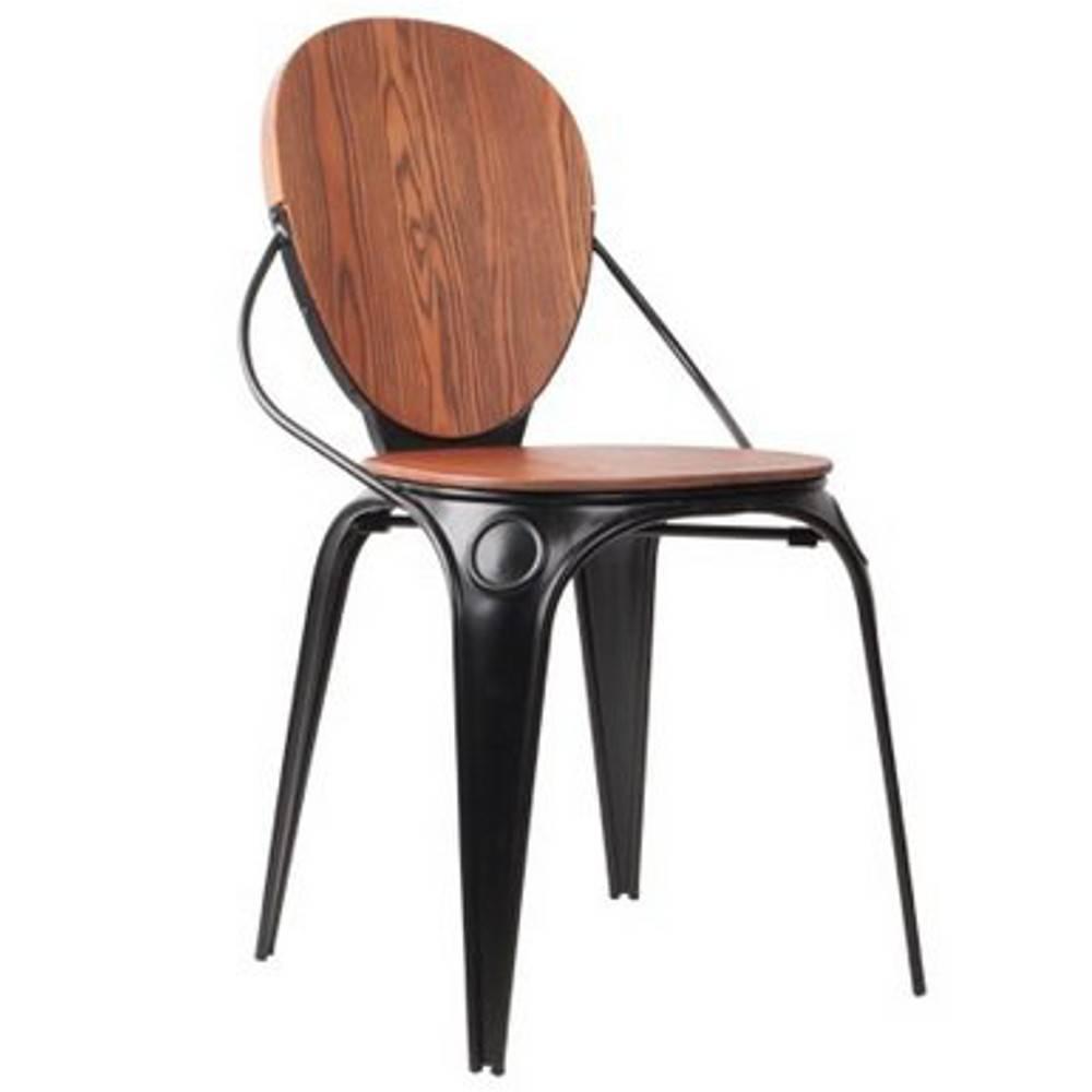 Chaises tables et chaises zuiver chaise louix noire for Chaise zuiver