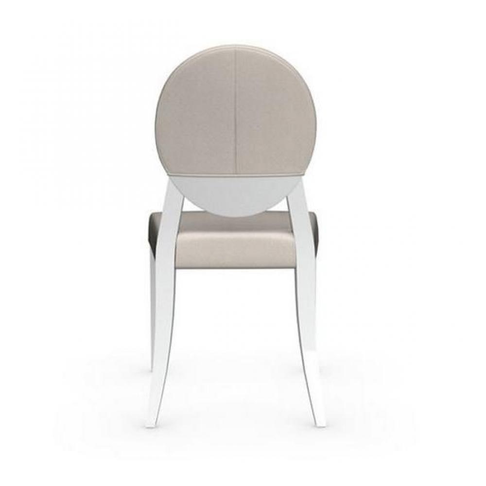 Chaises tables et chaises chaise m daillon deja vu de calligaris blanche as - Chaise medaillon blanche ...