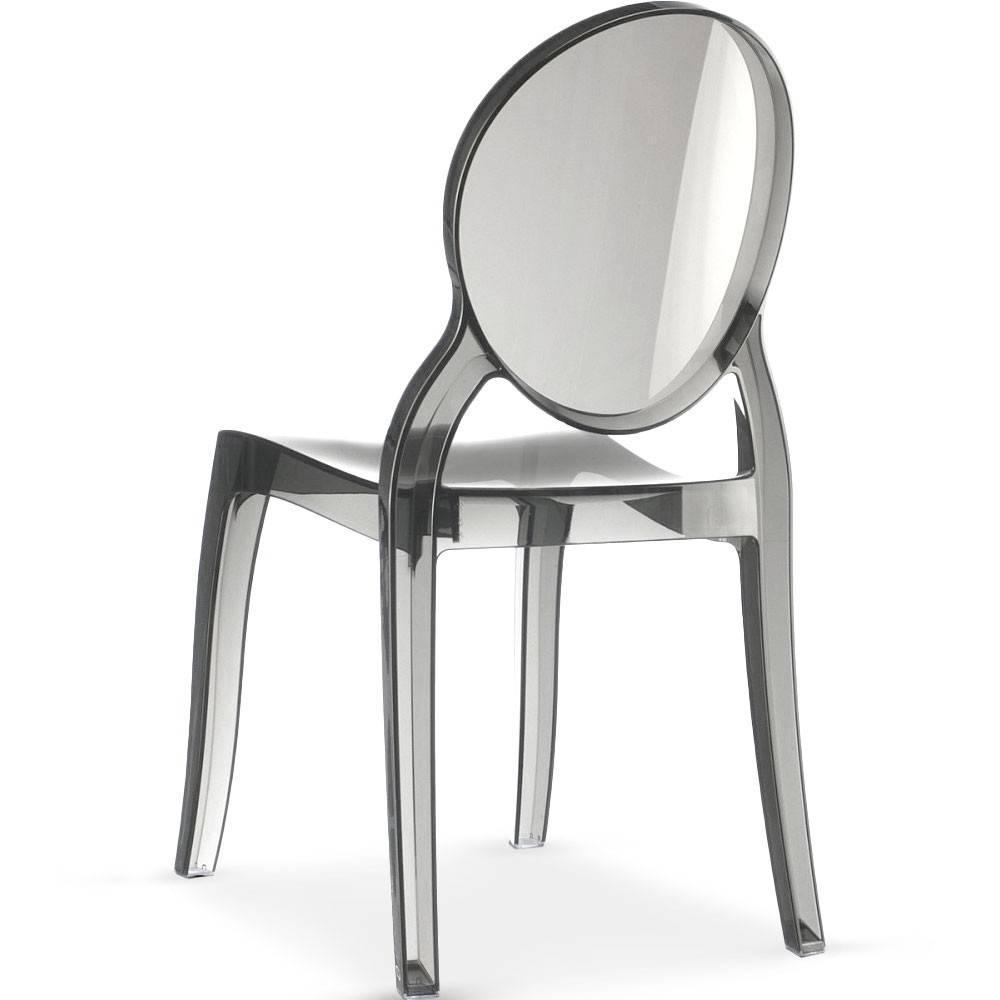 Chaises tables et chaises chaise design imp ratrice en polycarbonate transp - Chaises en polycarbonate ...