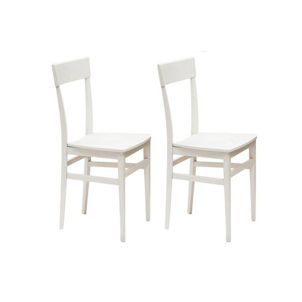 chaises tables et chaises lot de 2 chaises navigli en h tre inside75. Black Bedroom Furniture Sets. Home Design Ideas