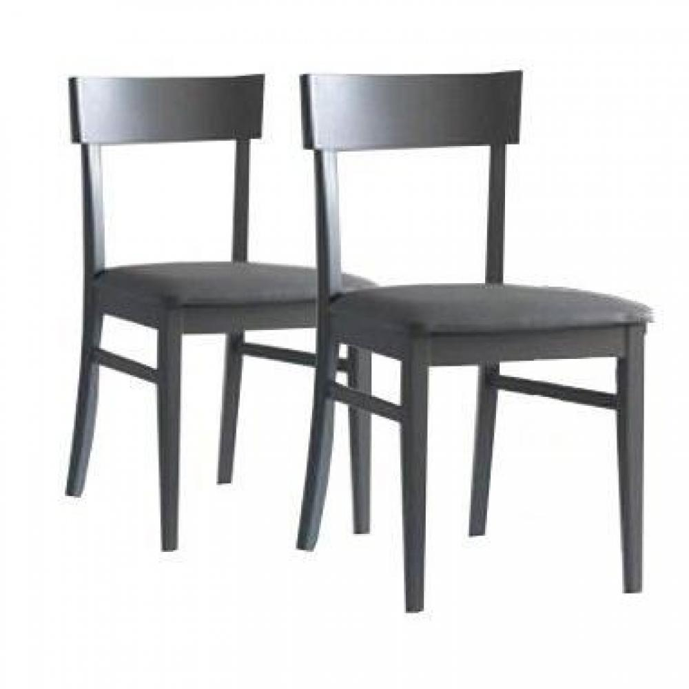 chaises meubles et rangements lot de 2 chaises new age. Black Bedroom Furniture Sets. Home Design Ideas