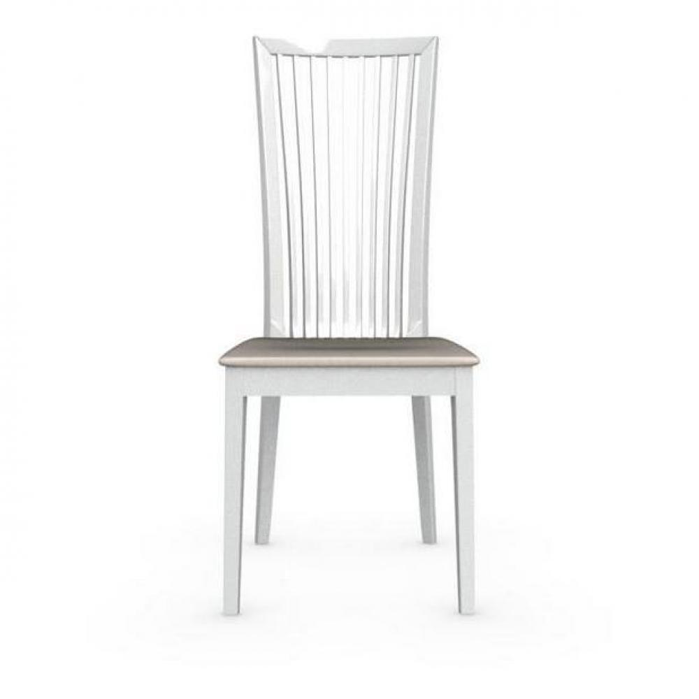 Chaises tables et chaises calligaris chaise philadelphia for Chaise blanche tissu