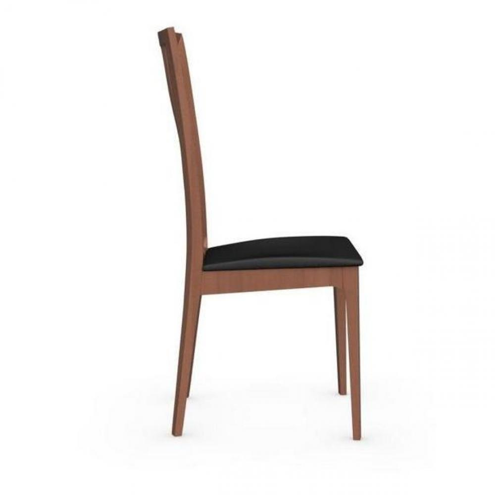 Chaises tables et chaises calligaris chaise italienne for Chaise noire tissu