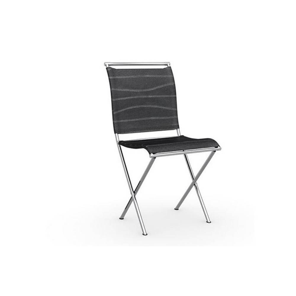 chaises pliantes tables et chaises calligaris chaise pliante design air folding structure. Black Bedroom Furniture Sets. Home Design Ideas