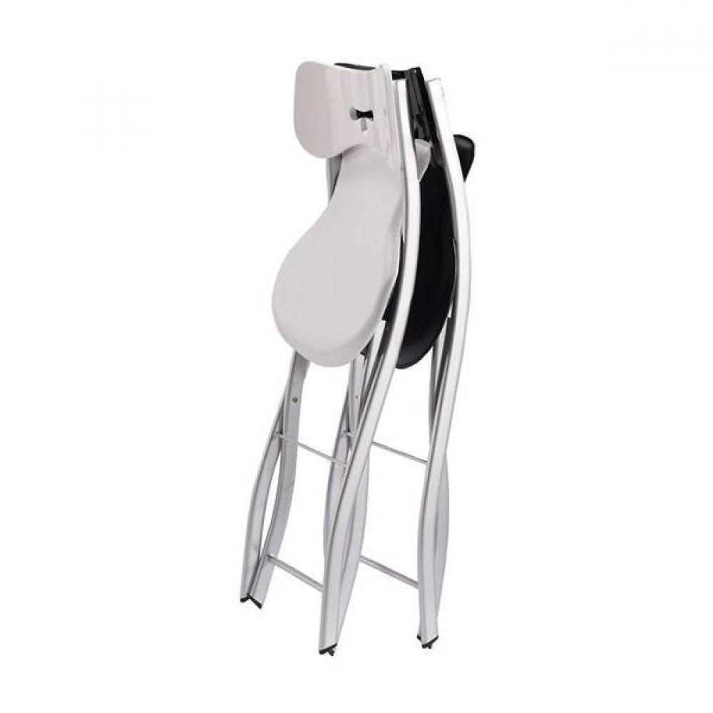 chaises pliantes meubles et rangements lots de 4 chaises pliantes eclipse blanches. Black Bedroom Furniture Sets. Home Design Ideas