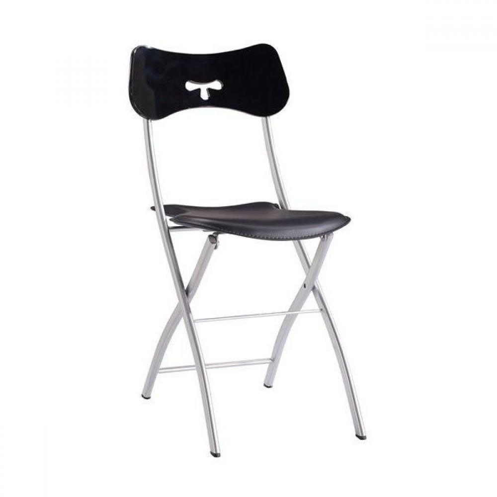 chaises pliantes meubles et rangements chaise pliante eclipse noire inside75. Black Bedroom Furniture Sets. Home Design Ideas